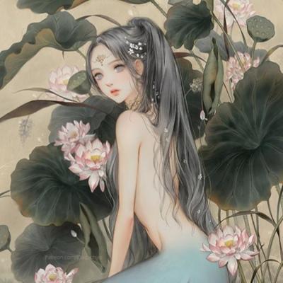 古风女生头像  言允:终是庄周梦了蝶,你是恩赐也是劫