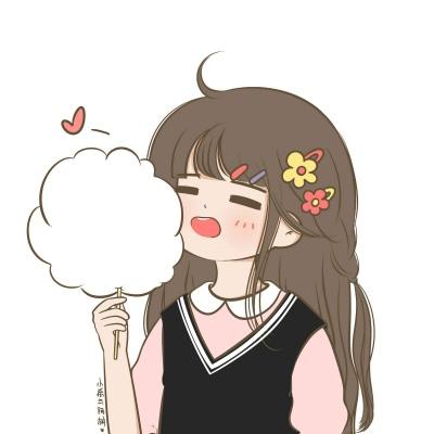 念七 可爱卡通女生小希头像