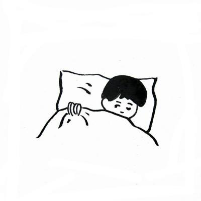 情侣简笔画手绘头像一对    你的手我不会放开