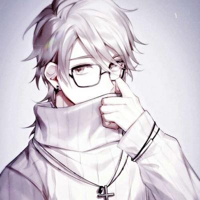 QQ头像 微信头像 白灏宇:男生头像/动漫/观星或觅云难悲喜  闻风听雨不见你