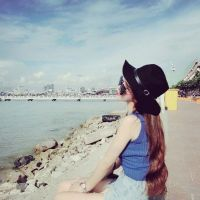 女生头像 海边