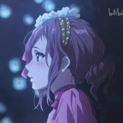 沫兮/女生头像动漫图源来自 紫罗兰的永恒花园
