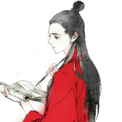 苏柒:古风手绘头像