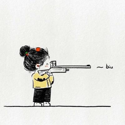 奥运漫画可爱头像  本以为跟日本是隔海相望 没想到是阴阳相隔