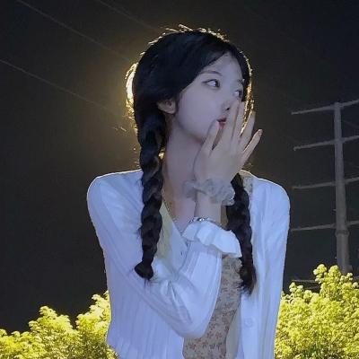 QQ头像 微信头像 云朵里/可爱鬼才会刷到的绝绝子温柔女头